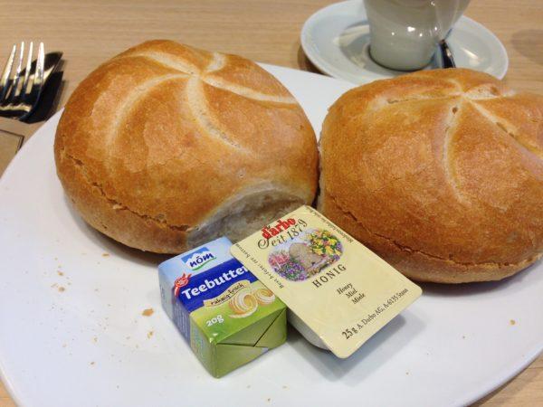 Das Classic Frühstück im Merkur Marktrestaurant